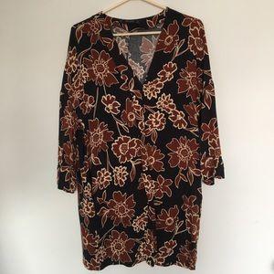 Patterned Zara Dress with pockets